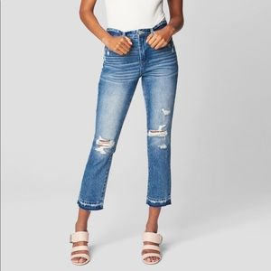 NWT BLANKNYC the Madison crop jeans